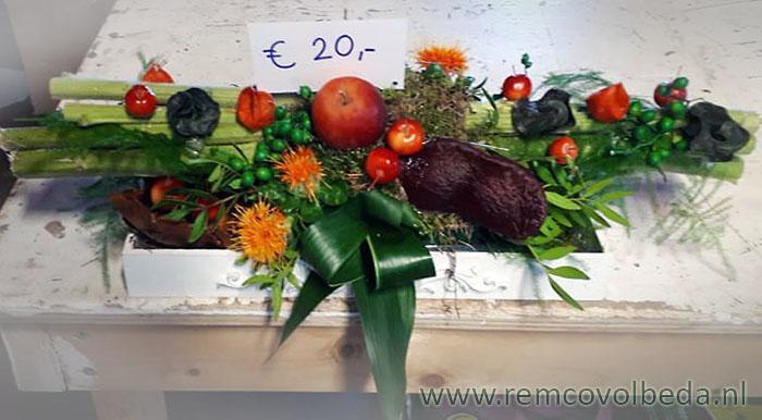 New Remco Volbeda Bloemen - Inschrijven workshop herfststukjes maken #XX71